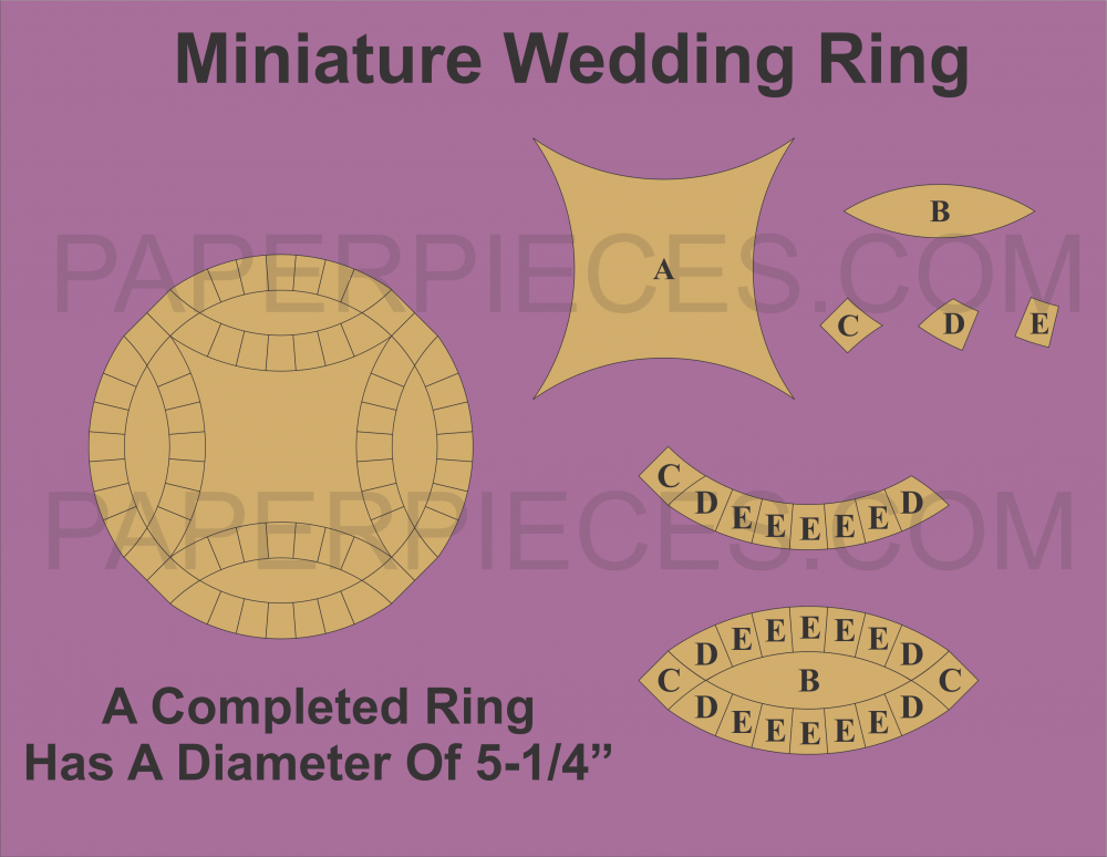 Mini Double Wedding Ring