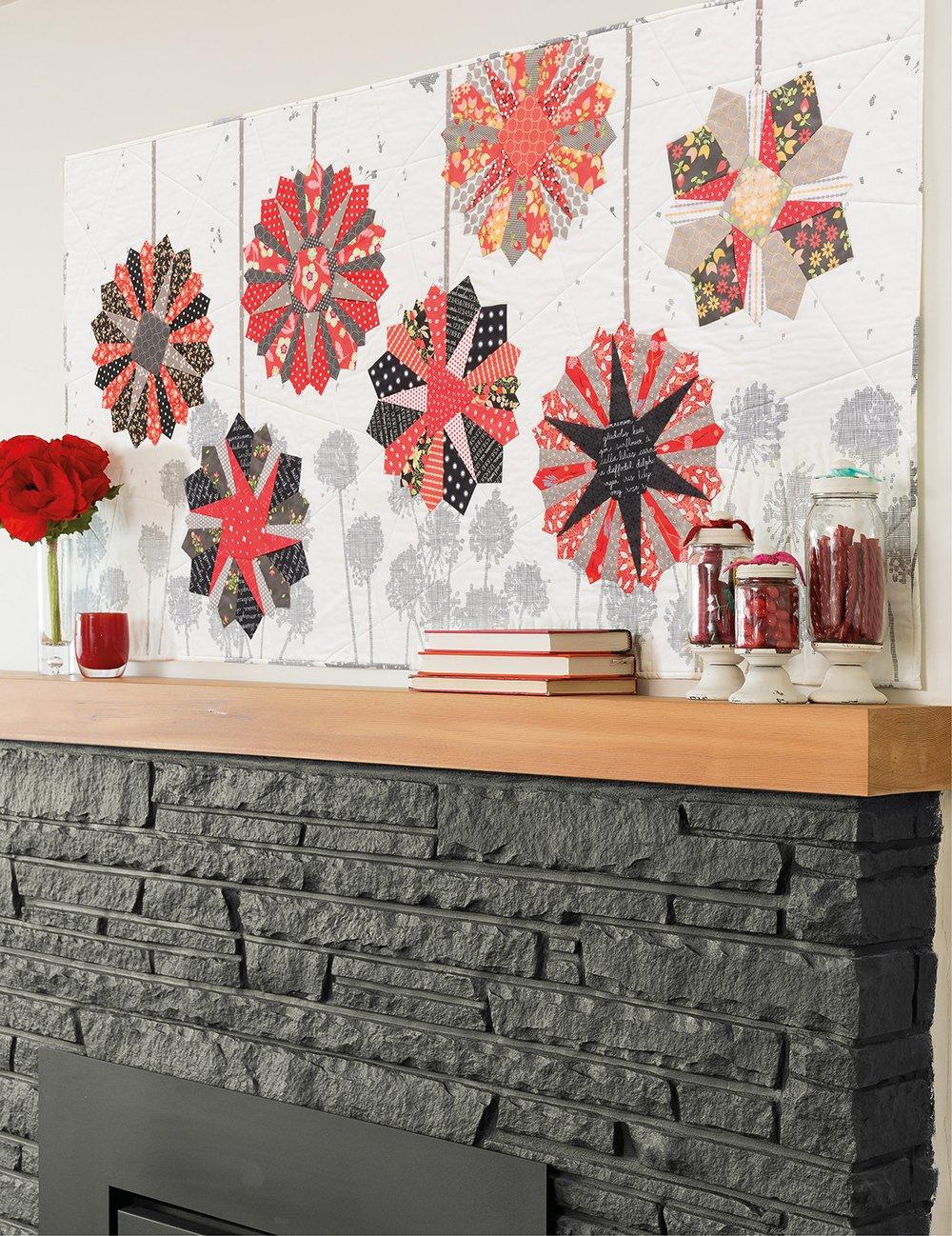 Paper Lanterns Wall Quilt