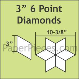 3 6 Pointed Diamond