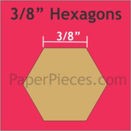 3/8 Hexagon