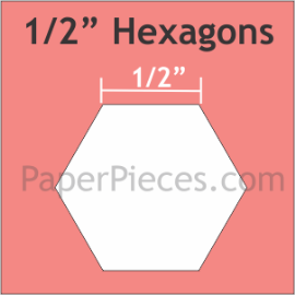 1/2 Hexagon