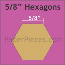 5/8 Hexagon