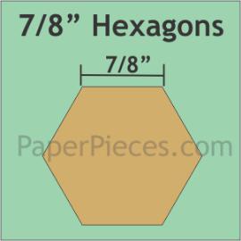 7/8 Hexagon