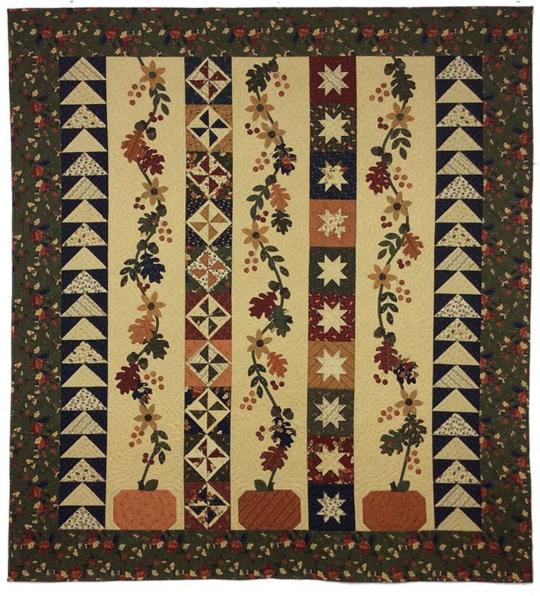 Oak Haven Lap Quilt Kut-ups
