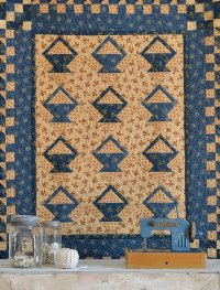 Blissfully Blue quilt