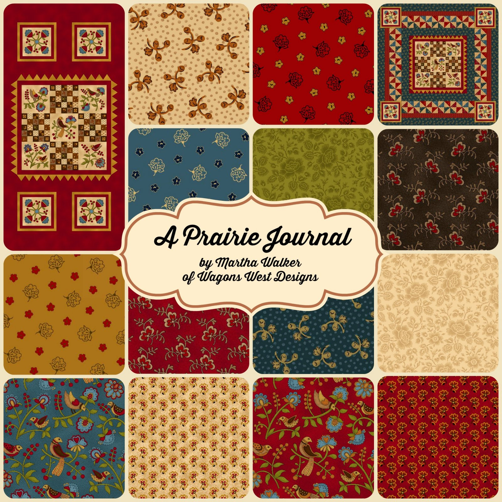 Licensed fabric designs by Martha Walker of Wagons West ... - photo#12