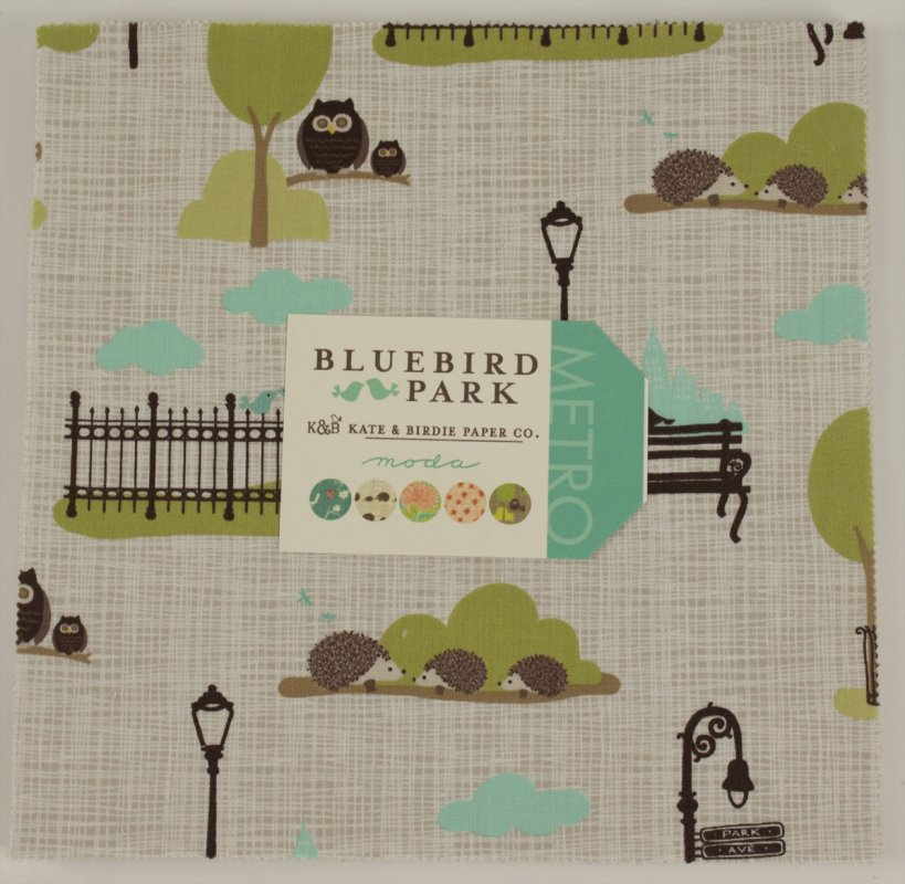 Bluebird Park Layer Cake
