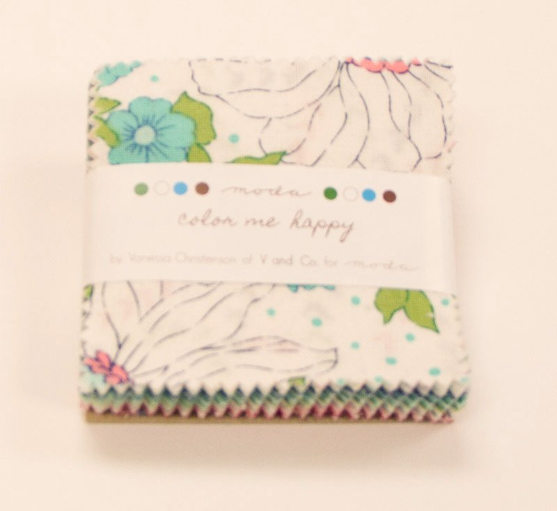 Color Me Happy Mini Charm Pack by Vanessa Christenson