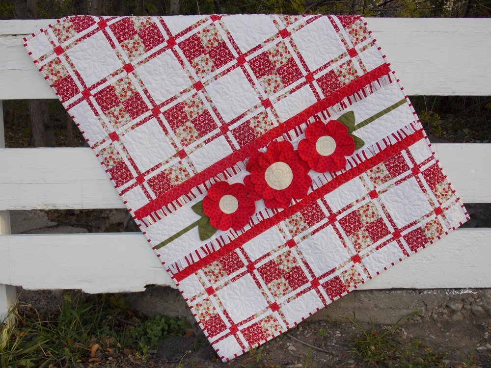 Posy Patch Quilt Kit
