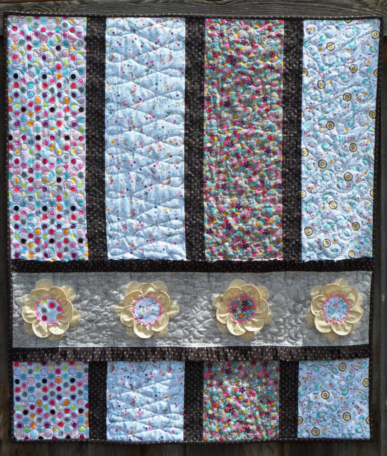 Free Strip Quilt Patterns Easy : Free Baby Quilt Patterns