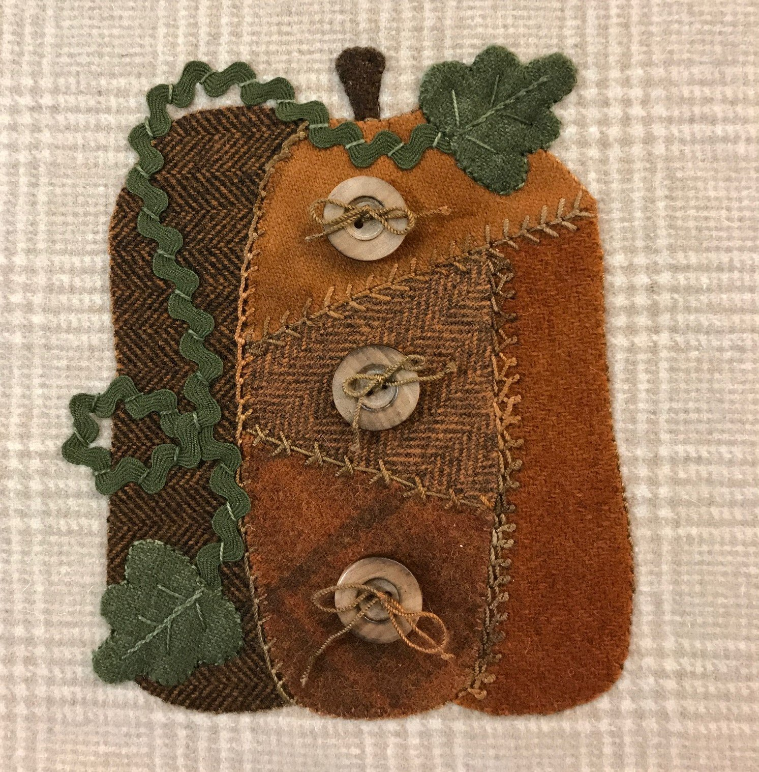 Wooly Block 2017: Harvest Pumpkin Kit