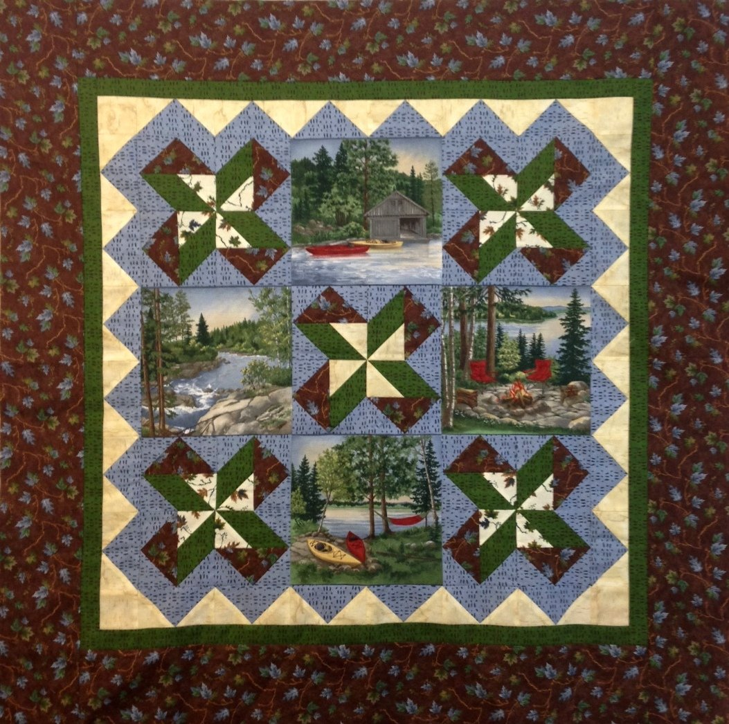 River Journey Table Topper/Wallhanging