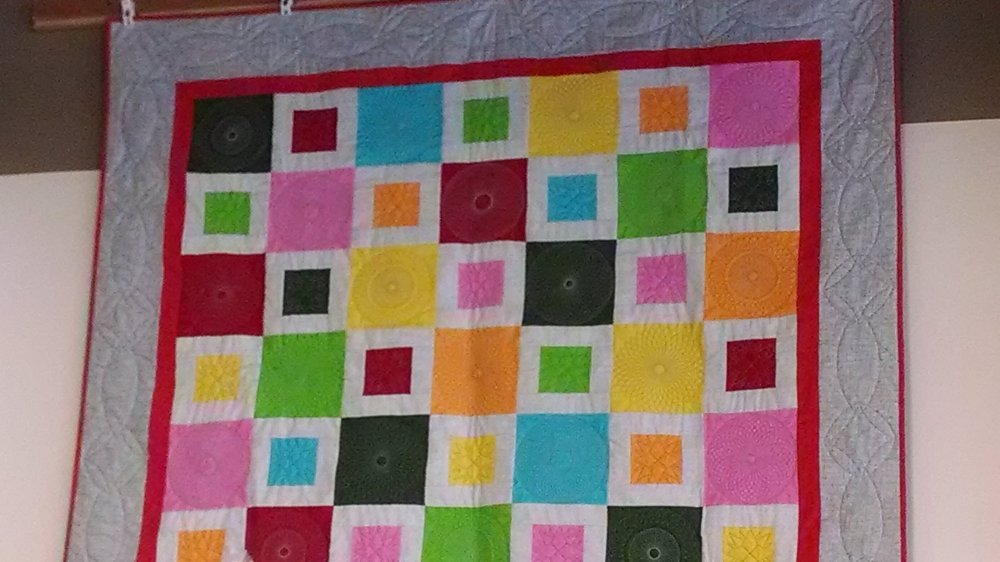 Beginning Quilting 101: Squares and Rectangles piecing 2014