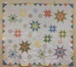 Hoopsisters Feathered Star Block Of The Month