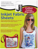 InkJet Fabric Sheets 10 Pack