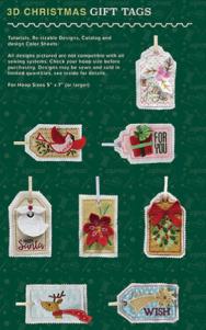 Anita Goodesign 3D Christmas Gift Tags