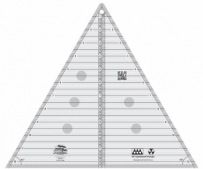 Creative Grid Quilt Ruler - 60 Degree Triangle