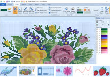 Premier+ 2 Embroidery Software New Cross Stitcher