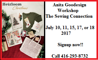 Anita Goodesign Workshop Heirloom Christmas At The Sewing Connection