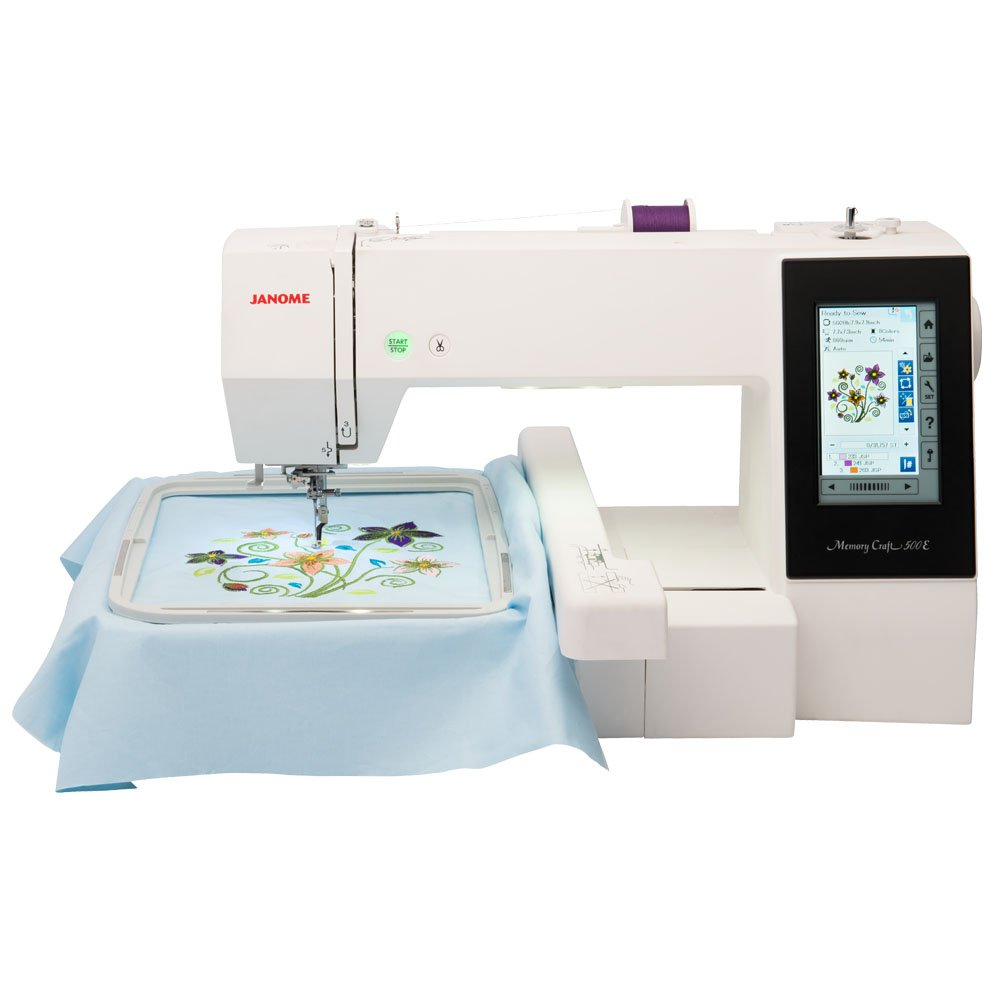 Janome memory craft 6600 - Check It Out Memory Craft 500 E