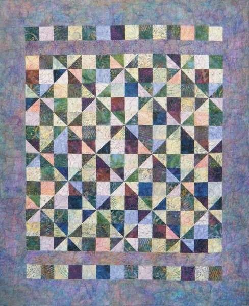 Pinwheel Squares by Far-Flung Quilts