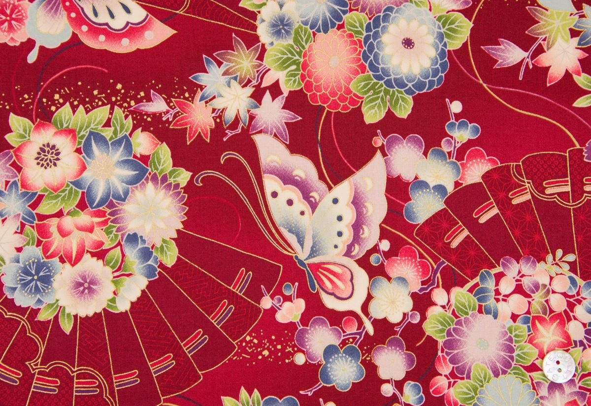 Asian Inspired Fabric 73