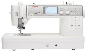 Janome's New Memory Craft 6700P