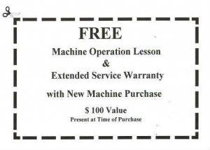 Free Machine Operation Lesson