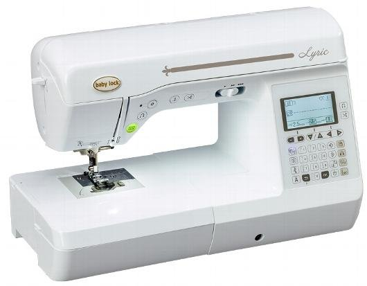 Baby Lock Lyric - Computerized Sewing Machine - 32489002303