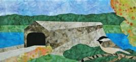 Cantik Batik Canadian Mystery Quilt - New Brunswick/Gulf Coast  - Block 1 Kt