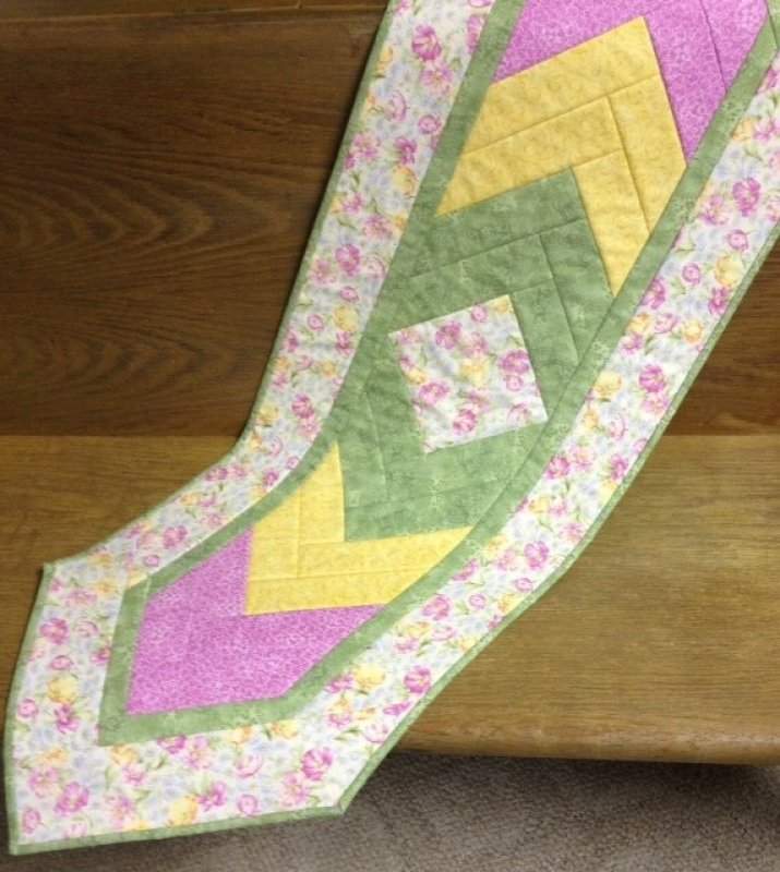 Braid Quilt Pattern Table Runner : Spring Braided Table Runner Kit