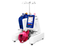 Brother single needle and multineedle embroidery machines