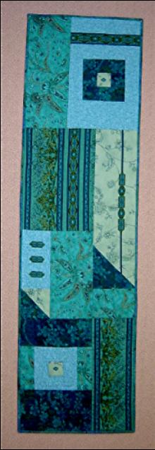 Table Art Runner in Jinny Beyer fabrics