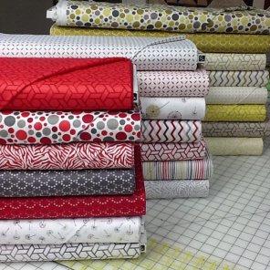 Fabric, RJR, Robert Kaufman, Moda, Benartex, Northcott, Quilting Treasures, Shannon Cuddle