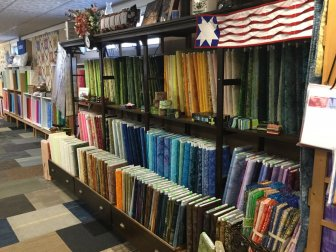 Sewing Basket Quilt shop, fabric store, Island Batik, Robert Kaufman, Moda and Sewing Shop Plymouth WI