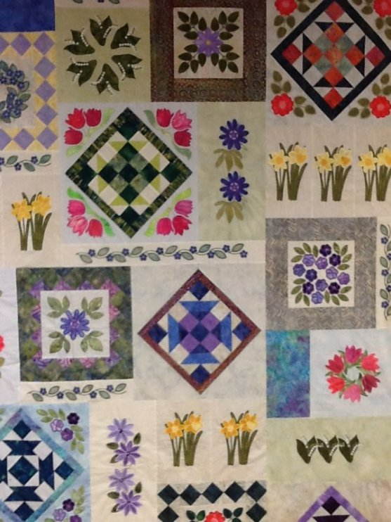 Feels Like Spring Embroidery design quilt