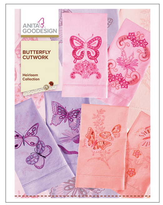 Butterfly Cutwork Anita Goodesign Embroidery Cd