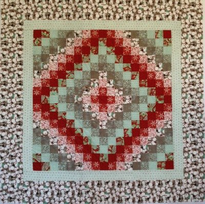 Blitzen Trip Around the World Quilt Kit