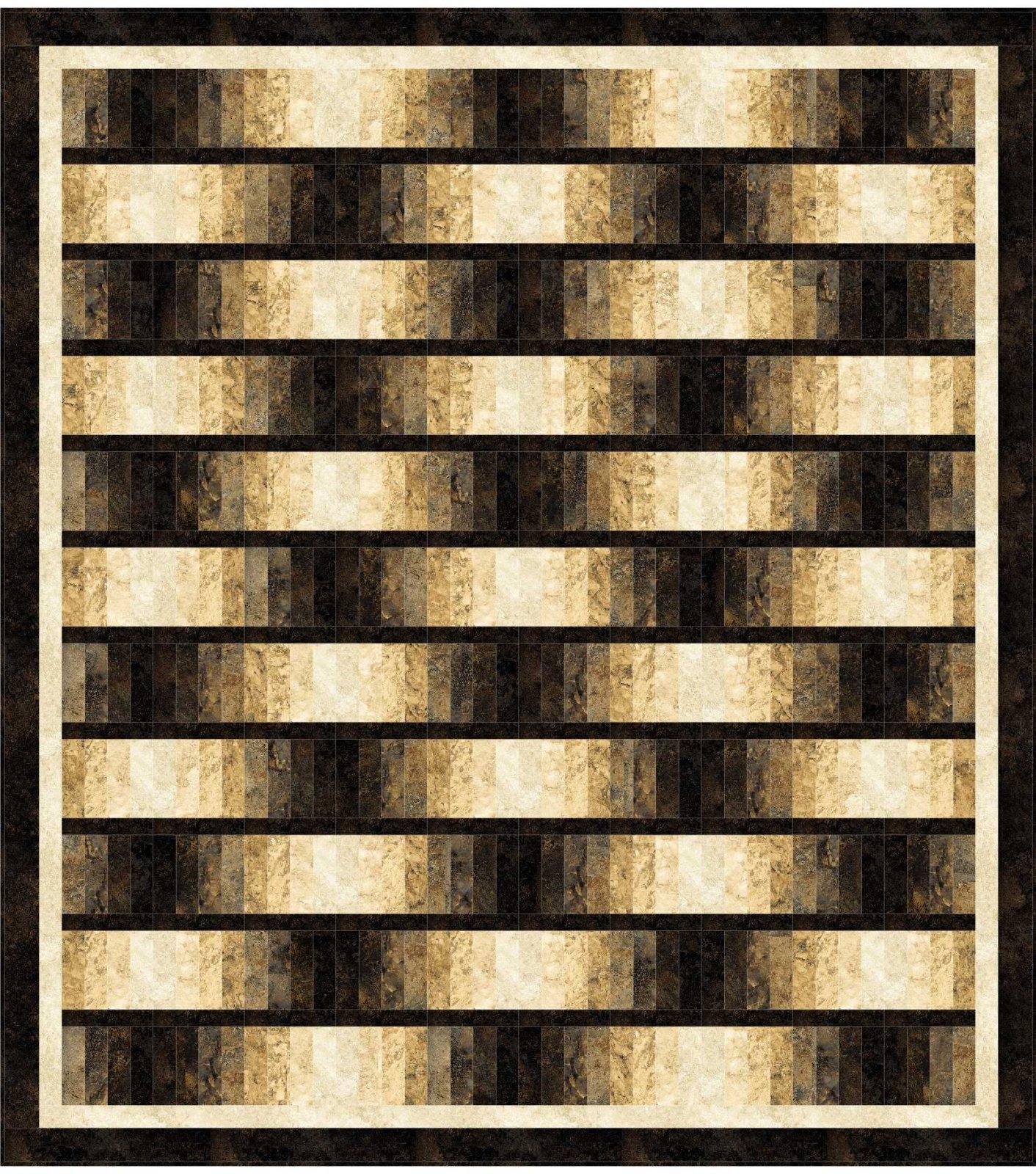 Dream Weaver quilt pattern - downloadable