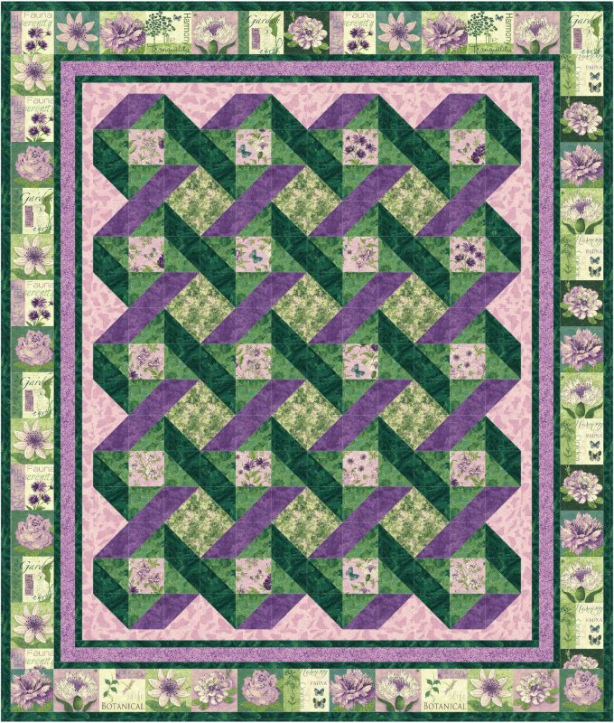garden trellis quilt pattern downloadable