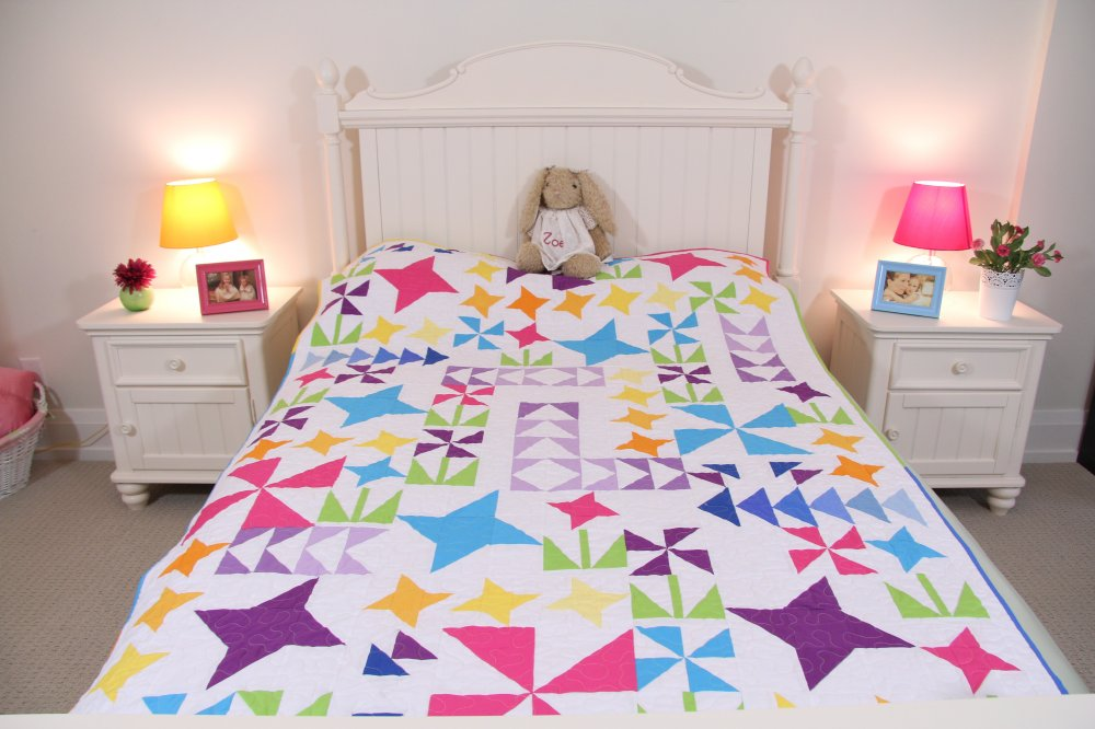 You Grow Girl! quilt pattern - downloadable