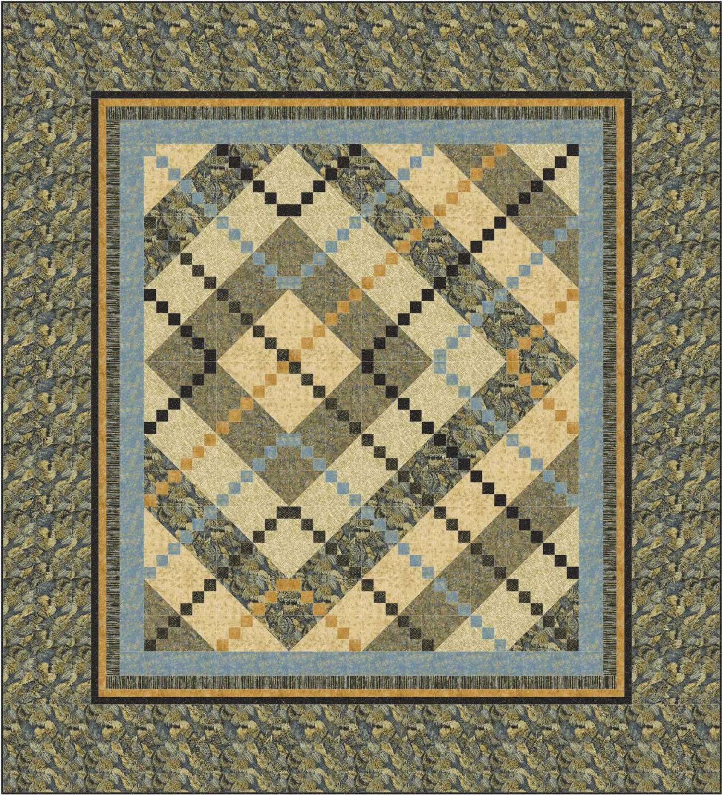 Modern argyle quilt pattern downloadable for Modern house quilts