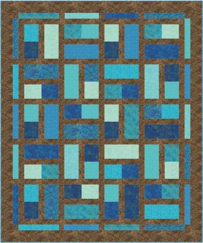 Fat Dominos Quilt Pattern