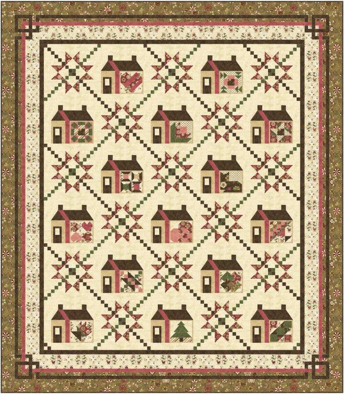 Love At Home Sampler Quilt Pattern