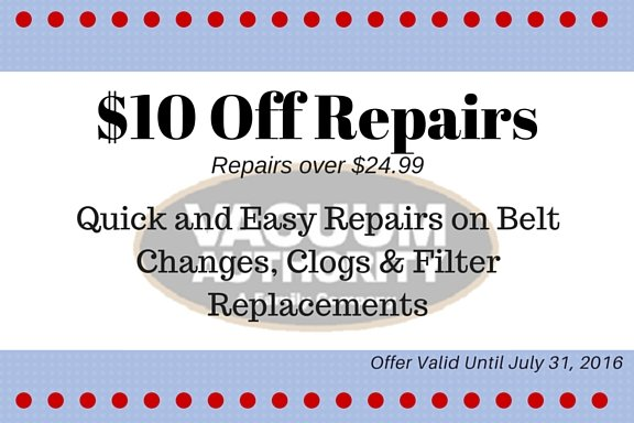 save on vacuum repair and vacuum servicing