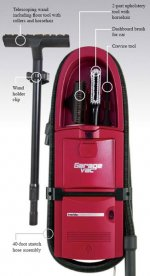 intervac garage vacuum cleaner combines convenience with powerful cleaning ability