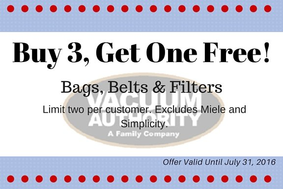 Vacuum Bags on Sale Now at Vacuum Authority