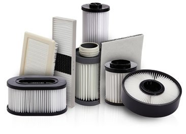 Filters from Vacuum Authority