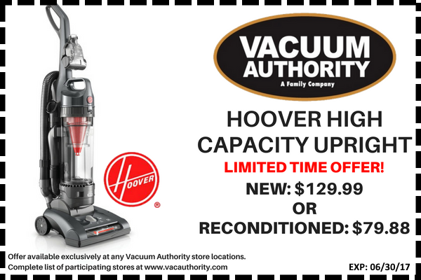 Hoover High Capacity Upright