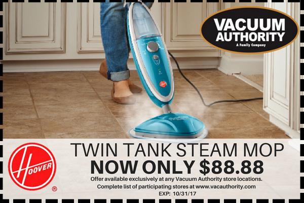 Twin Tank Steam Mop